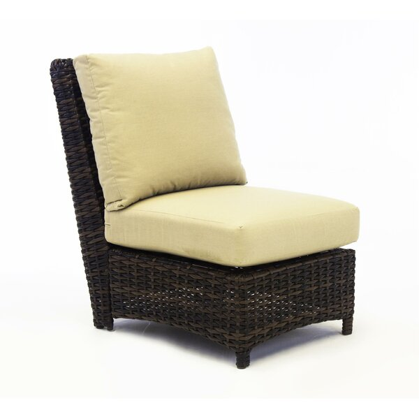 Losey Deep Seating Chair with Cushion by Rosecliff Heights