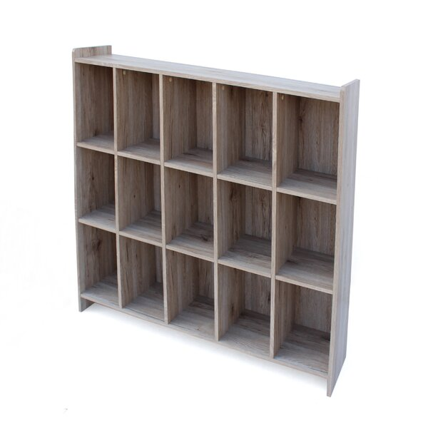 Peete Wood Cube Unit Bookcase by Ebern Designs