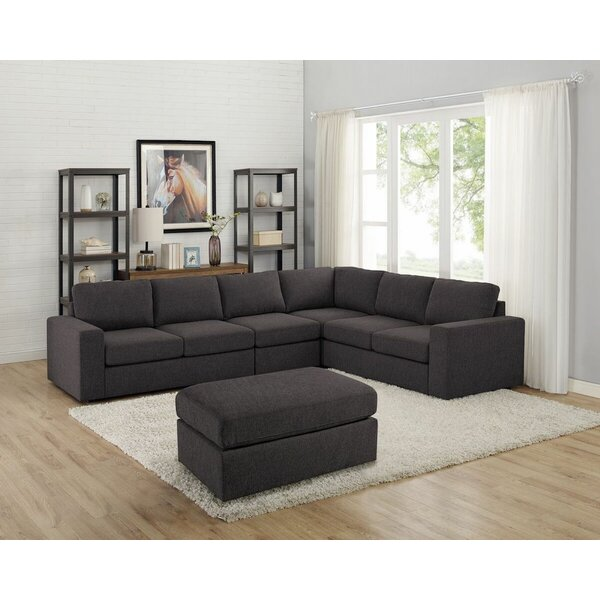 Ariadne Modular Sectional with Ottoman by Ivy Bronx