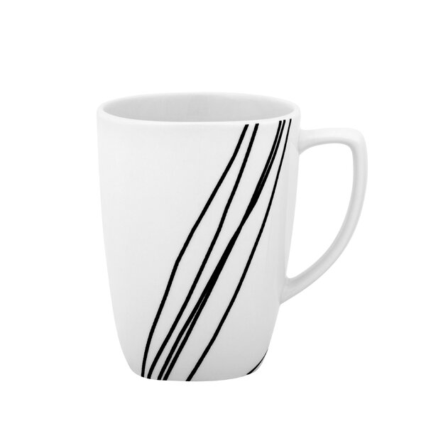 Simple Sketch 12 Oz Mug Set Of 4 By Corelle.