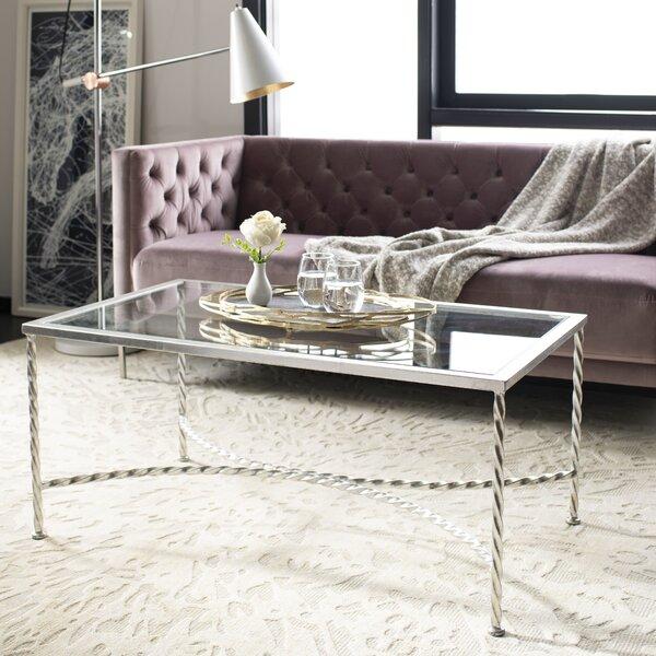 Reynaldo Glass Top Coffee Table by Willa Arlo Interiors