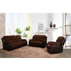 Pamela 3 Piece Living Room Set by Beverly Fine Furniture