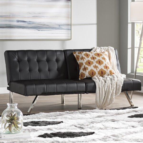 Littrell Convertible Sofa by Wade Logan