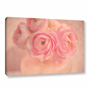 Pink Bouquet Photographic Print on Wrapped Canvas by Winston Porter