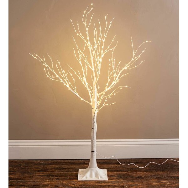 39 Birch Artificial Christmas Tree with 300 Clear