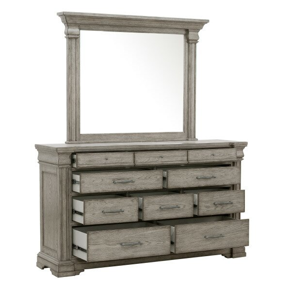 Goleta 10 Drawer Dresser with Mirror by Ophelia & Co.