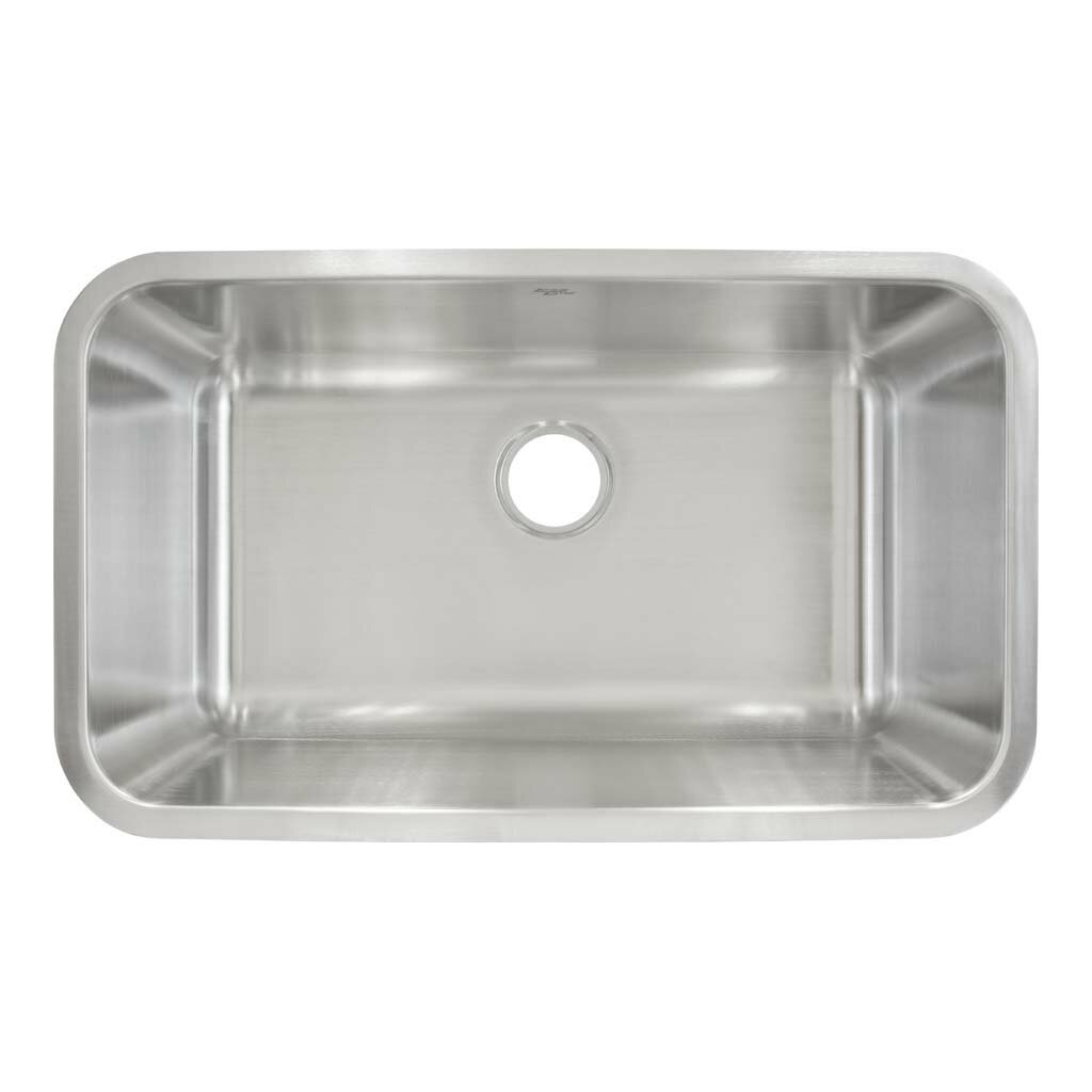 30 x 18 undermount single bowl kitchen sink - White Single Basin Kitchen Sink
