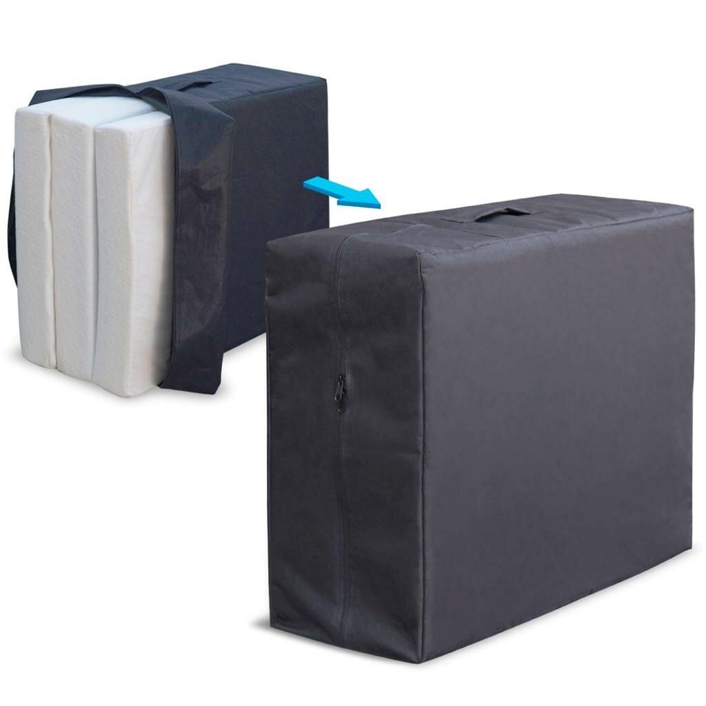 King Size Gel Mattress Topper Best Price Quality Tri-fold Memory Foam Mattress Topper ...