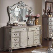 Poirier 8 Drawer Combo Dresser with Mirror by One Allium Way