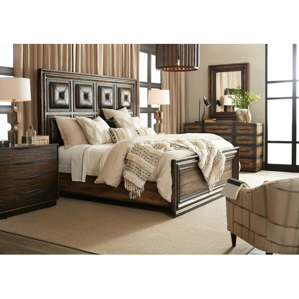 Crafted Standard Configurable Bedroom Set by Hooker Furniture