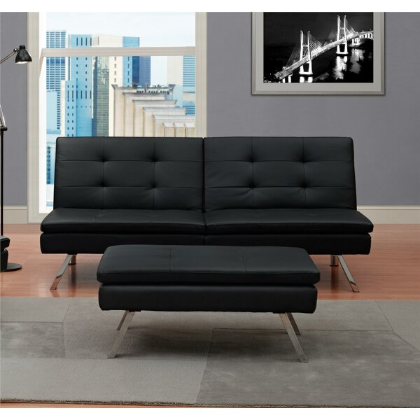 Johnathan Convertible Sofa By Wade Logan Modern