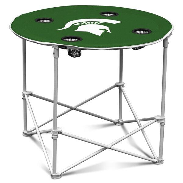 NCAA 30 Circular Folding Table by Logo Brands