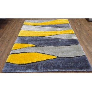 Read Reviews Hand-Tufted Gray/Yellow Area Rug ByRug Factory Plus