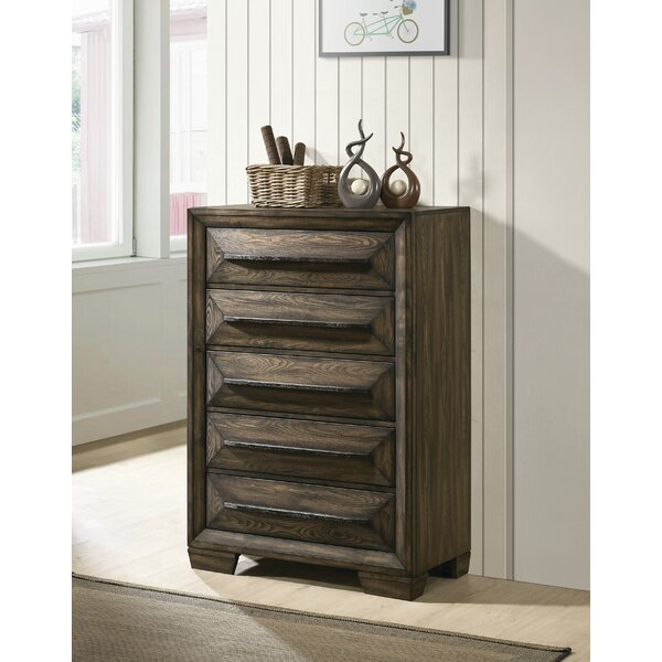 Winegar 5 Drawer Chest by Foundry Select