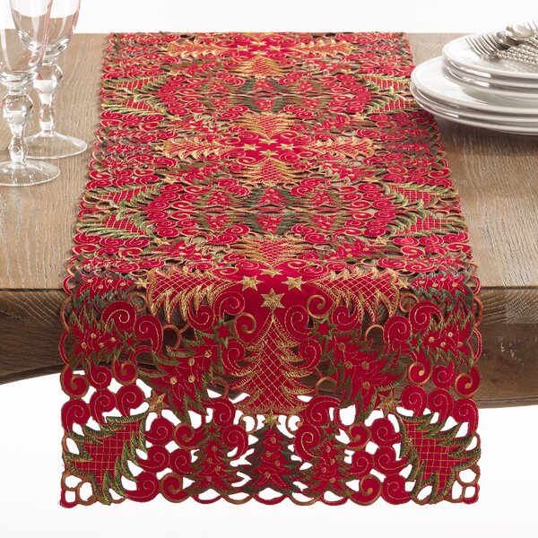 Panettone Table Runner by The Holiday Aisle
