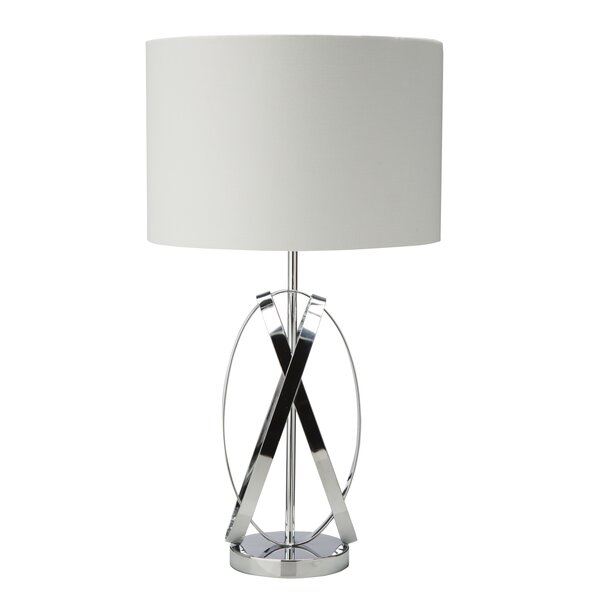 Lamar X-Shaped 28 Table Lamp by Everly Quinn