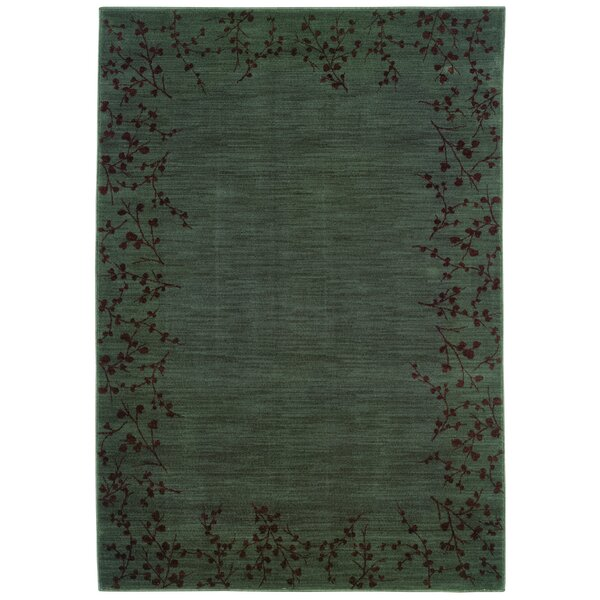 Ryles Blue/Brown Area Rug by Red Barrel Studio