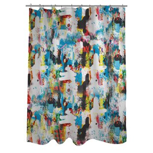 NY 3 Shower Curtain