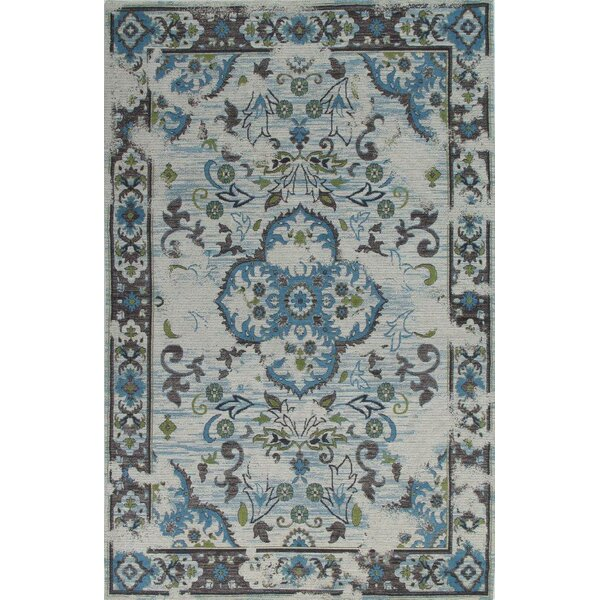 Narberth Blue/Gray Area Rug by Bloomsbury Market