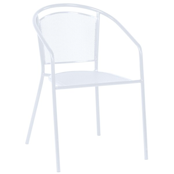 Helena Stacking Patio Dining Chair (Set of 4) by Mercury Row