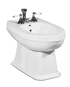 Richmond 16.75 Floor Mount Bidet by St Thomas Creations by Icera