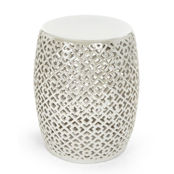 Lorin Garden Stool by Zentique