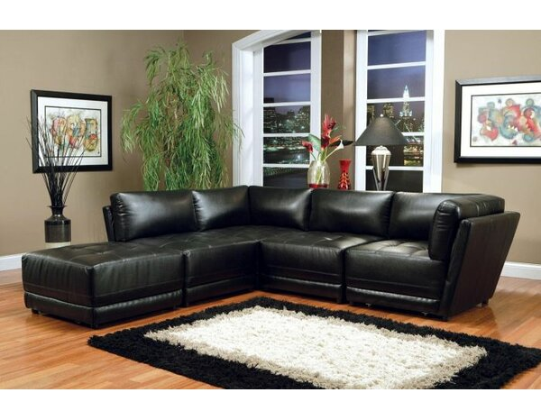 Goudeau 5 Piece Living Room Set by Orren Ellis