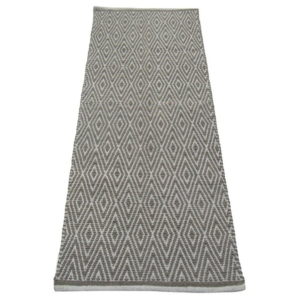 Fortin Designed Gray/White Indoor/Outdoor Area Rug by Bungalow Rose