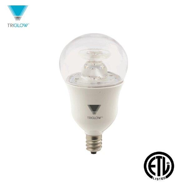40W Equivalent E12 LED Standard Light Bulb by TriGlow