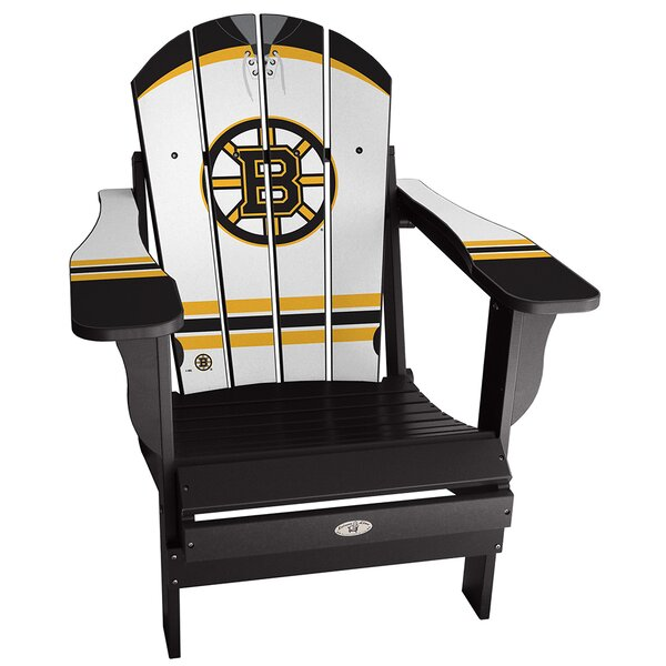 NHL Away Plastic Folding Adirondack Chair by My Custom Sports Chair