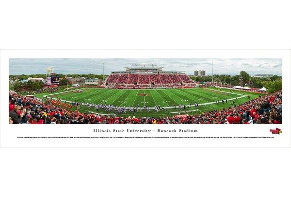 NCAA Illinois State U - Football by Robert Pettit Photographic Print by Blakeway Worldwide Panoramas, Inc