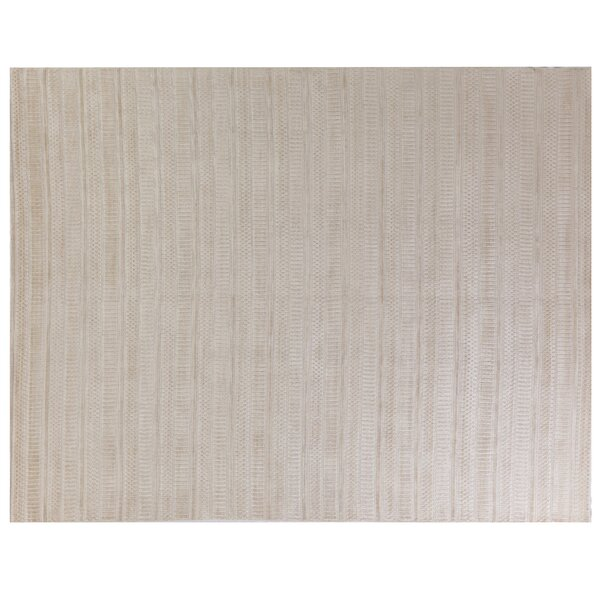 Addison Hand-Woven Beige Area Rug by Exquisite Rugs
