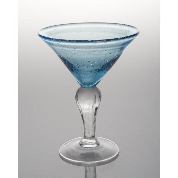 St. Remy 8 Oz. Bubble Martini Glass (Set of 4) by Abigails