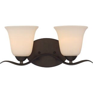 Affordable Ehrlich 2-Light Vanity Light By Charlton Home