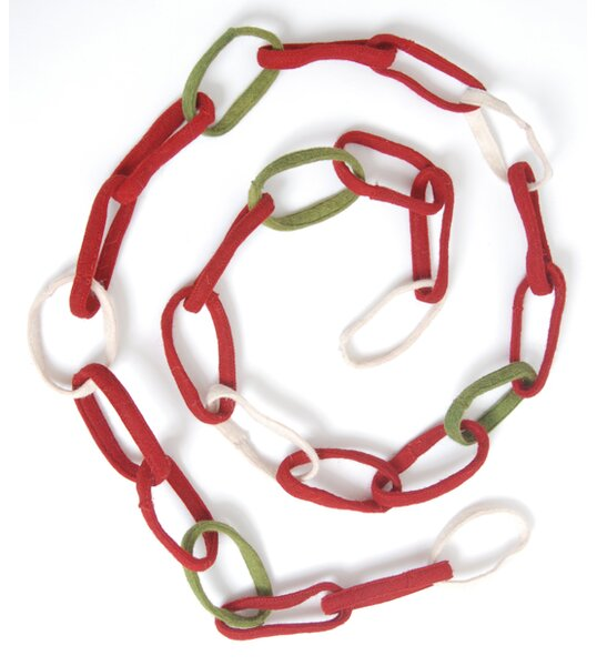 Loop Christmas Garland (Set of 2) by Arcadia Home