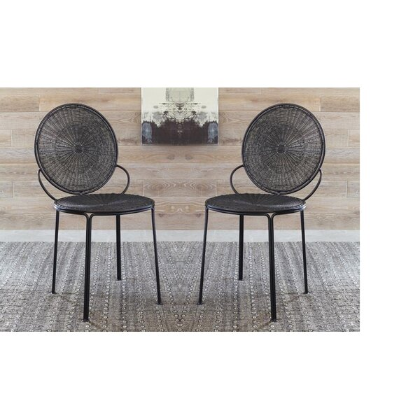 Carpio Open Side Chair (Set of 2) by Bungalow Rose