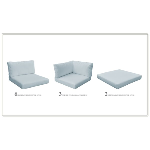 23 Piece Indoor/Outdoor Lounge Chair Cushion Set by Sol 72 Outdoor Sol 72 Outdoor