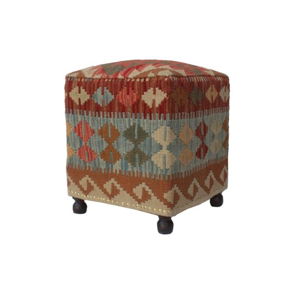 Rucker Ottoman by World Menagerie