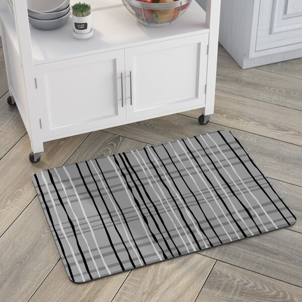 Swofford Plaid Kitchen Mat by Red Barrel Studio