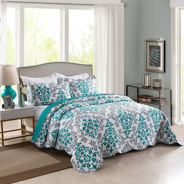 Willene 3 Piece Reversible Quilt Set by Winston Porter