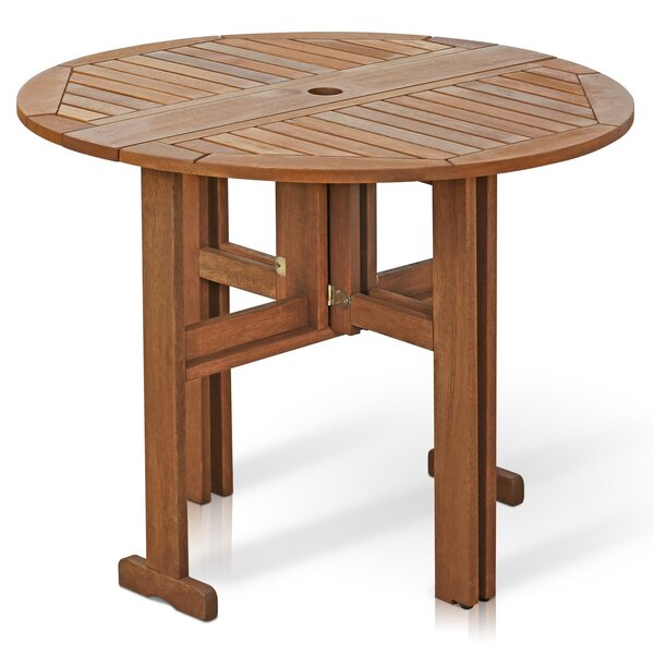 Arianna Folding Wood Dining Table by Langley Street
