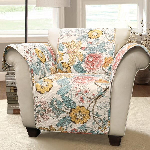Dellaposta T-Cushion Arm Chair Slipcover by Red Barrel Studio