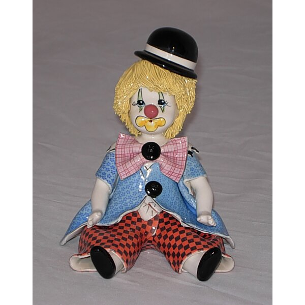Zampiva Authentic Shelf Clown Figurine by Three Star Im/Ex Inc.