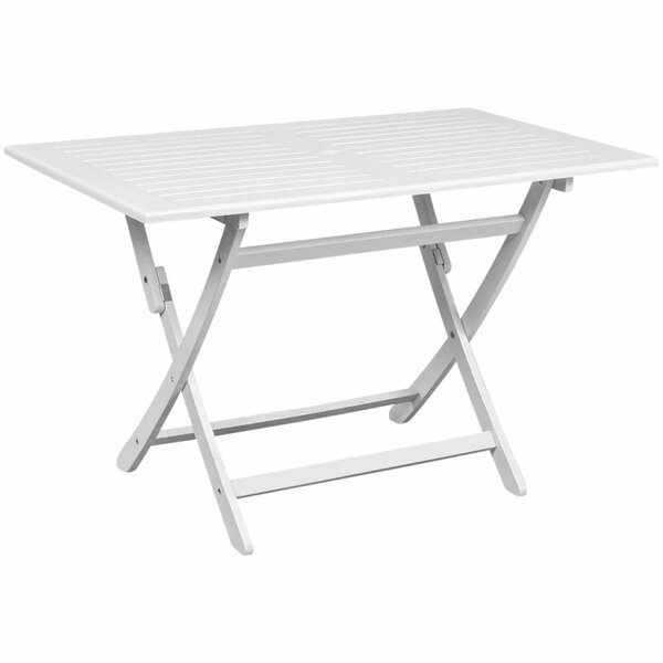 Elem Wooden Dining Table by Highland Dunes