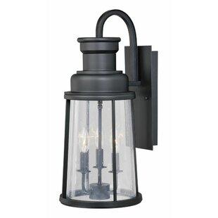 Reviews Cascades 3-Light Outdoor Wall Lantern By Trent Austin Design