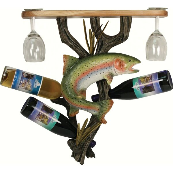 Shiey Trout 3 Wine Bottle Rack by Millwood Pines