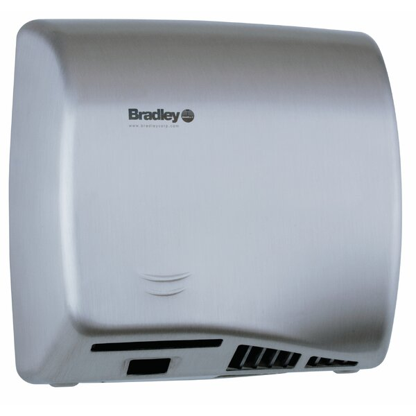Aerix Hand Dryer in Stainless Steel by Bradley Corporation