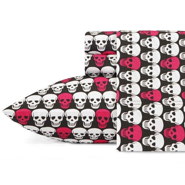 Skulls Sheet Set by Betsey Johnson
