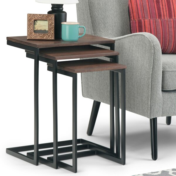 Sturm 3 Piece Nesting Tables by Williston Forge