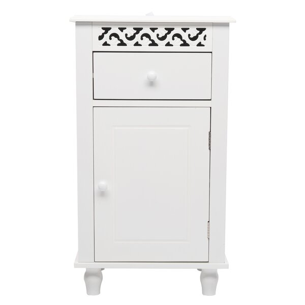 Altheimer 15.75'' W x 28.35'' H x 11.81'' D Free-Standing Bathroom Cabinet